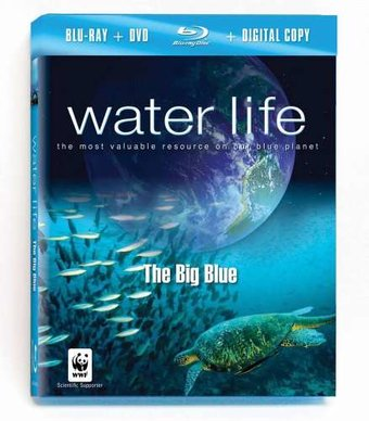 Water Life: The Big Blue [Blu-ray plus DVD and