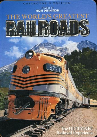 Trains - The World's Greatest Railroads (5-DVD)