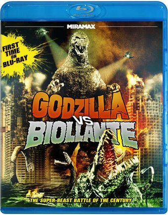 Godzilla Vs. Biollante (Blu-ray)