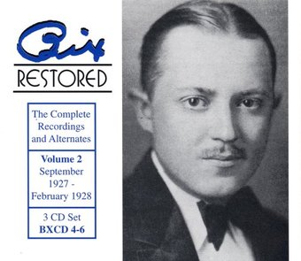 Bix Restored, Volume 2 (3-CD Box Set)