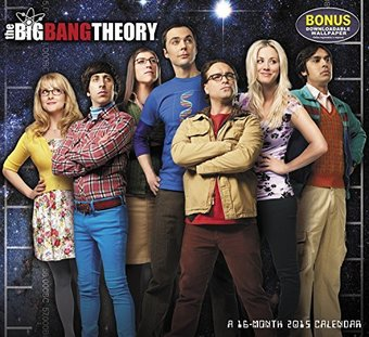 The Big Bang Theory - 2015 Calendar