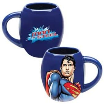 DC Comics - Superman: Man of Steel - Blue 18 oz.