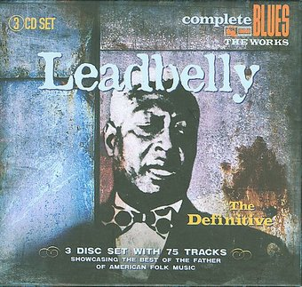Definitive Leadbelly (3-CD Box Set)
