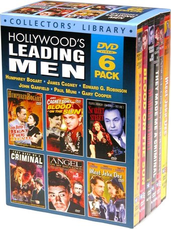 Hollywood's Leading Men (6-DVD)