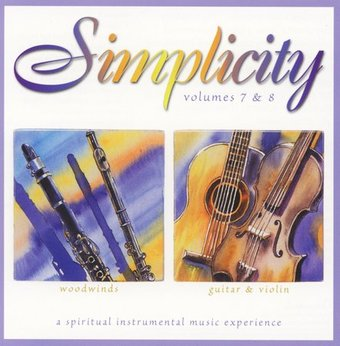 Simplicity: Woodwinds, Guitar and Violin (2-CD)