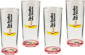 The Beatles - Yellow Submarine: 4-Piece 10 oz.