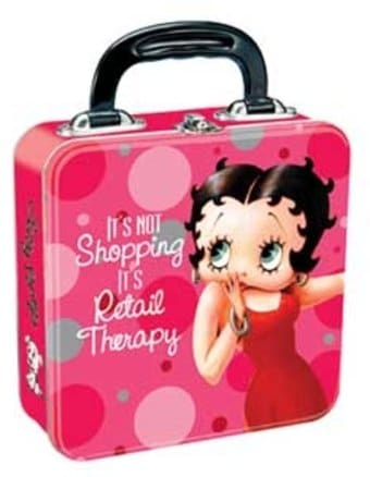 Betty Boop - Square Tin Tote