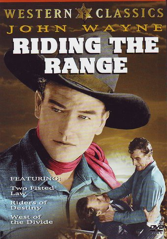 John Wayne - Riding the Range Triple Feature: Two