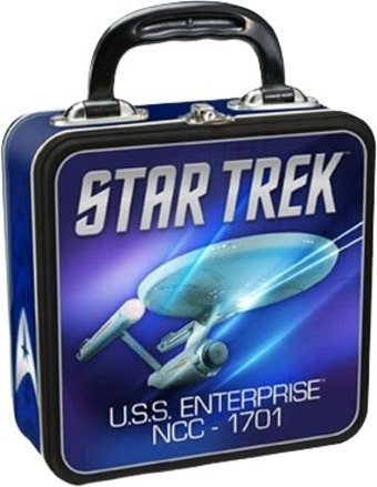 Star Trek - Square Tin Tote