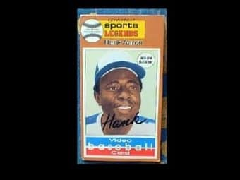 Baseball - Video Baseball Card: Hank Aaron