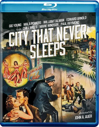 City That Never Sleeps (Blu-ray)
