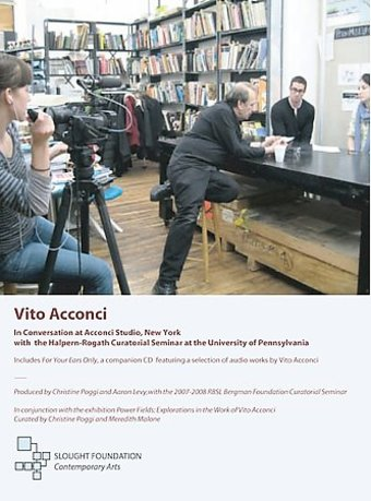 Vito Acconci - In Conversation At Acconci Studio,