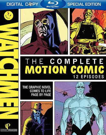 Watchmen - Motion Comics (Blu-ray)