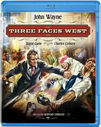 Three Faces West (Blu-ray)