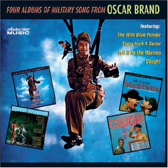 Four Albums of Military Song From Oscar Brand: