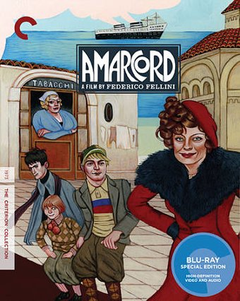 Amarcord (Blu-ray, Criterion Collection)