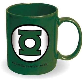 DC Comics - Green Lantern - Logo - 12 oz. Ceramic