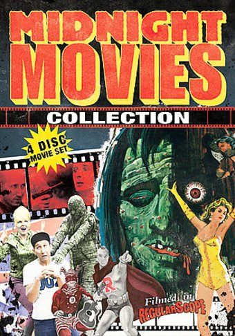 Midnight Movie Collection - 4-Disc Movie Set