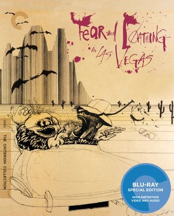 Fear and Loathing in Las Vegas (Blu-ray,