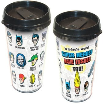 DC Comics - Superheroes Have Issues - 16 oz.
