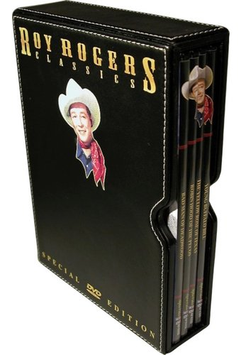 Roy Rogers Classics (4-DVD Leather Box Set)