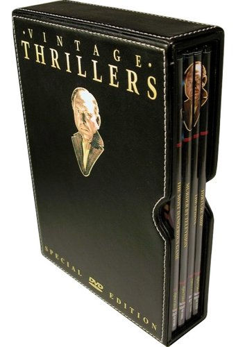 Vintage Thrillers Collection (4-DVD Leather Box
