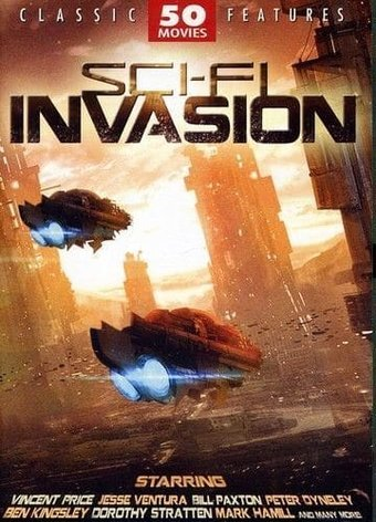 Sci-Fi Invasion (50 Movies) (12-DVD)