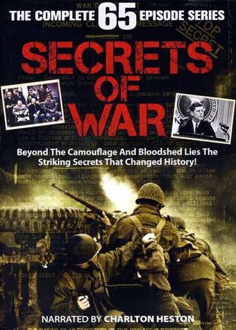 Secrets of War - Complete Series (13-DVD)