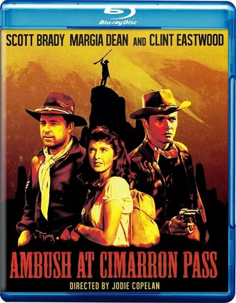 Ambush At Cimarron Pass (1958) (Blu-ray)