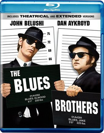 The Blues Brothers (Blu-ray, Rated, Unrated)