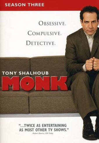 Monk - Season 3 (4-DVD)