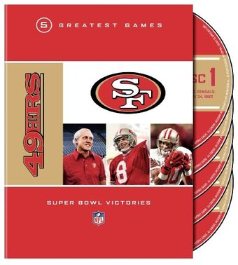 Football - NFL: San Francisco 49ers - 5 Greatest