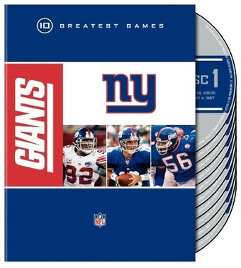Football - NFL: New York Giants - 10 Greatest
