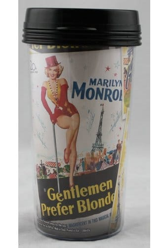 Marilyn Monroe - Movie Poster Plastic 15 oz.