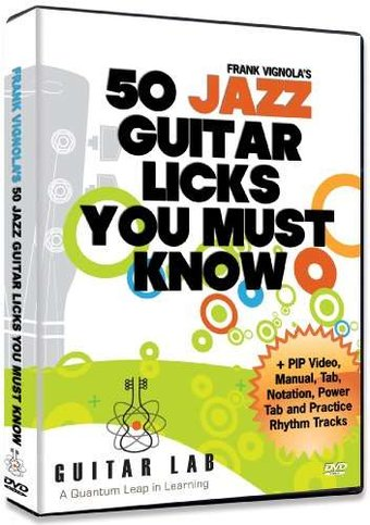 50 Jazz Licks You Must Know