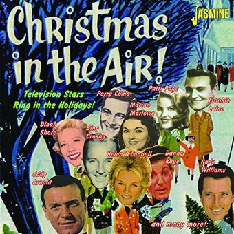 Cheap Lads Holidays >> Christmas in the Air: Television Stars Ring in the Holidays (2-CD) (2015) - Jasmine | OLDIES.com