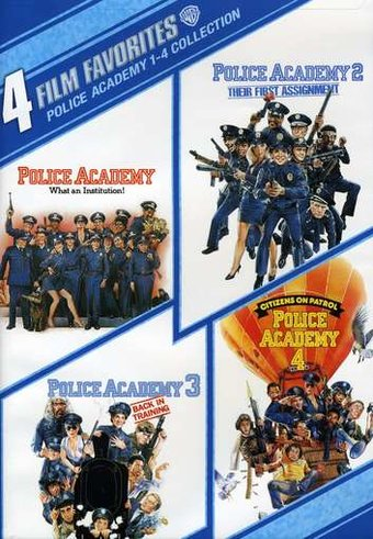 Police Academy: 4 Film Favorites (Police Academy