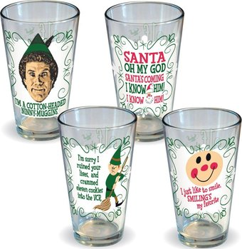 Elf the Movie - Quotes Pint 4-Pack