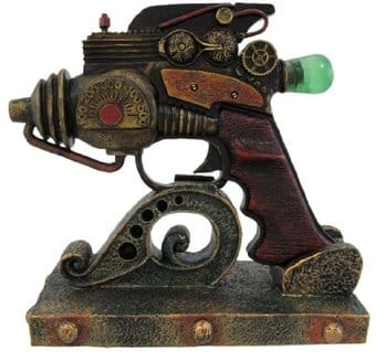 Steampunk - Consolidator Ray Gun Prop with Stand