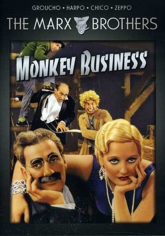 The Marx Brothers: Monkey Business