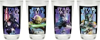 Star Wars - Glass Set of Four