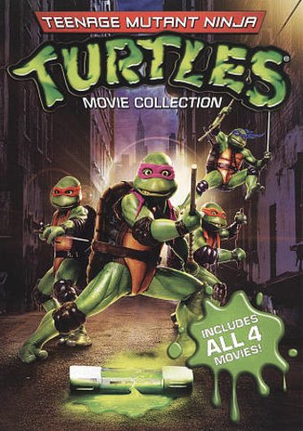 Teenage Mutant Ninja Turtles 4-Film Collection