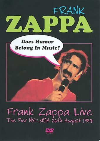 Frank Zappa Does Humor Belong In Music Live At The Pier