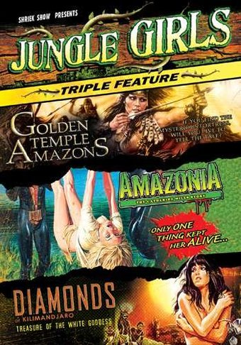 Jungle Girls Triple Feature (3-DVD)