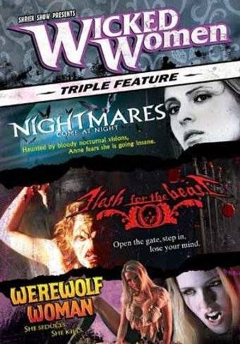 Wicked Women Triple Feature - Wicked Lake / Flesh