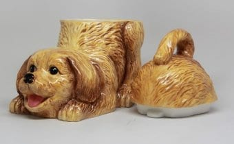 Puppy - Golden Retriever - Cookie Jar