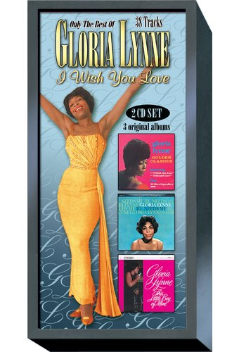 Only The Best of Gloria Lynne (2-CD + Book)