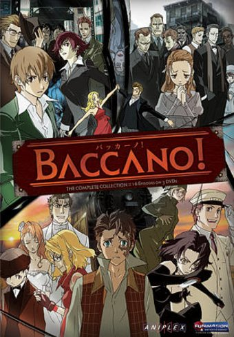 Baccano! - Complete Series (3-DVD)