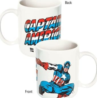 Marvel Comics - Captain America Ceramic 12 oz.