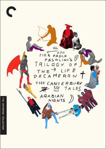 Trilogy of Life (4-DVD)